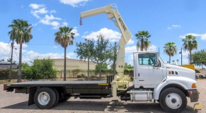 7.2t National N-85 Knuckle Boom Crane