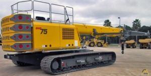 Grove GHC75 75-Ton Telescopic Crawler Crane