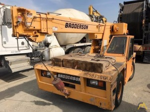 8.5t Broderson IC-80-1D Industrial Carry Deck Crane