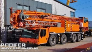 8.8t Liebherr MK 88 PLUS Tower Crane