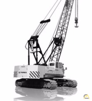 Terex HC 80 80-ton Lattice Boom Crawler Crane