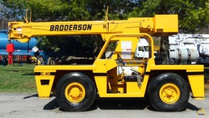 8t Broderson IC-80-2E Carry Deck Crane