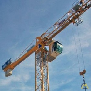 Potain MDT 219 J8 8-ton Flat Top Tower Crane