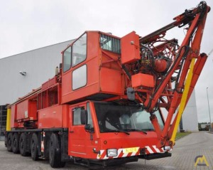 8t Spierings SK598-AT5 Mobile Tower Crane