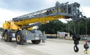 90t Grove RT890E Rough Terrain Crane