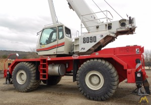90t Link-Belt RTC-8090 II Rough Terrain Crane