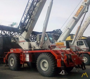 Link-Belt RTC-8090 90-Ton Series II Rough Terrain Crane