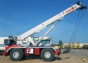 Link-Belt RTC-8090 Series II 90-ton Rough Terrain Crane For Sale