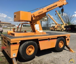 Broderson IC-80-1F 9-Ton Carry Deck Crane