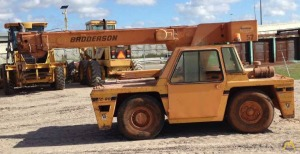 9t Broderson IC-80-3G Industrial Carry Deck Crane