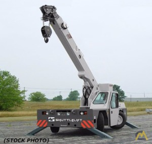 Shuttlelift CD3339 9-Ton Carry Deck Crane