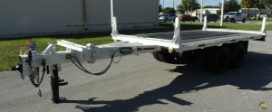 Allegheny FB- 12T Extendable Utility Pole Trailer
