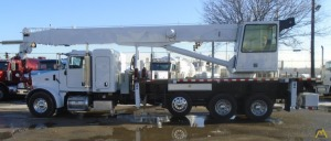 Altec 38103 38-Ton Boom Truck Crane on Peterbilt 357