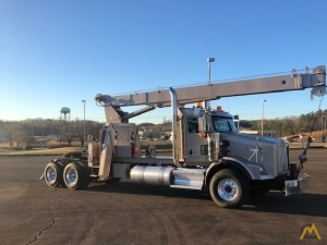 Altec AC18-70B 18-ton Boom Truck Cranes on Kenworth T800 Wide Nose