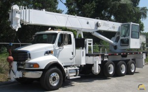 Altec AC38-127S 38-Ton Boom Truck Crane on Sterling LT9500