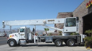 Altec AC38-127S 38-ton Boom Truck Crane on Peterbilt 357