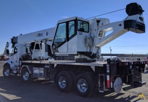 Altec AC45-127S 45-ton Boom Truck Crane on Kenworth T880