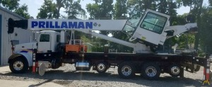 Altec AC45-127S 45-ton Boom Truck on Peterbilt
