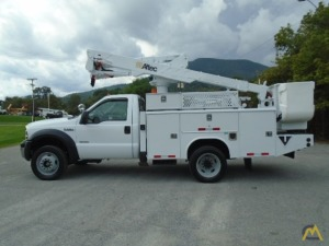 Altec AT37G 37.5 ft. Articulating Bucket Truck on Ford F 550