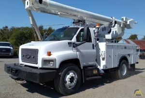 Altec L42M Articulating Boom Bucket Truck on GMC C7500