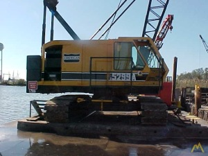 American 5299 A 60-Ton Lattice Boom Crawler Crane
