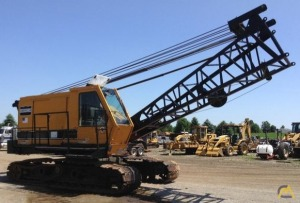 American 5300 Lattice Boom Crawler Crane