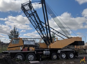 American 7150 125-ton Lattice Boom Truck Crane