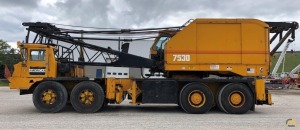 American 7530 125-Ton Lattice Boom Truck Crane