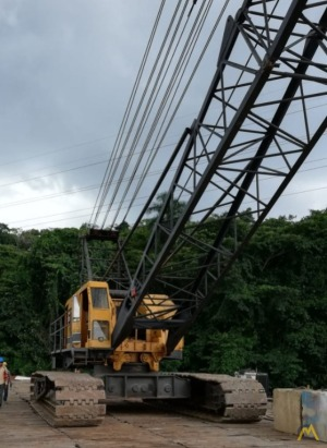 American 9225 150-Ton Lattice Boom Crawler Crane