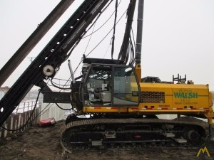 Banut 650 Fixed Leader Mast Pile Driving Rig