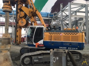 Bauer BG 24 H Rotary Drilling Rig