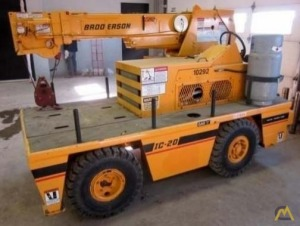 Broderson IC-20-K 2.5-ton Industrial Carry Deck Crane
