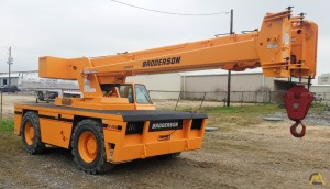 Broderson IC-200-3F 15-Ton Industrial Carry Deck Crane