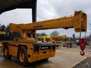 Broderson IC-200-3G 15-Ton Carry Deck Industrial Cranes