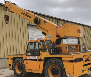 Broderson IC-200-3H 15-Ton Carry Deck Industrial Cranes
