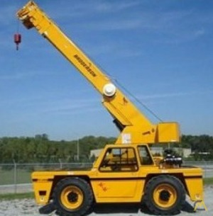 Broderson IC-200-3H 15-ton Carry Deck Industrial Crane