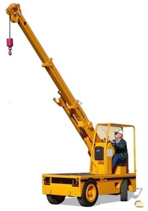 Broderson IC-25-2A 4-ton Industrial Carry Deck Crane