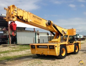 Broderson IC-250-3D 18-Ton Industrial Carry Deck Crane