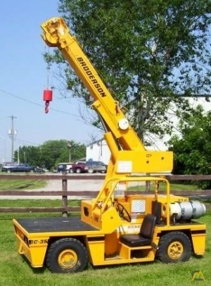 Broderson IC-35-G 4-ton Industrial Carry Deck Crane