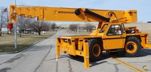 Broderson IC-400-3A 25-Ton Carry Deck Industrial Crane