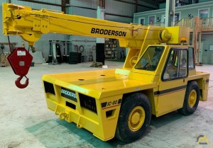 Broderson IC-80-2F 9-ton Industrial Carry Deck Crane
