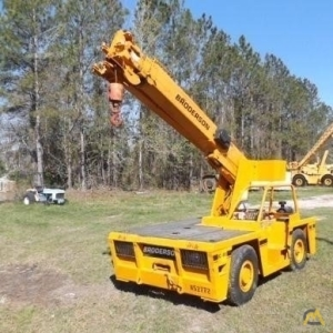Broderson IC-80-2G 9-ton Carry Deck Industrial Crane
