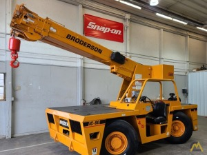 Broderson IC-80-2G 9-Ton Carry Deck Industrial Cranes