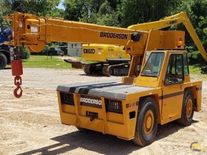 Broderson IC-80-3G 8.5-Ton Carry Deck Crane