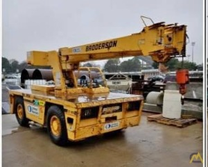 Broderson IC-80-3G 8.50-ton Carry Deck Industrial Crane
