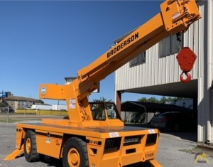 Broderson IC-80-3G 9-Ton Carry Deck Crane