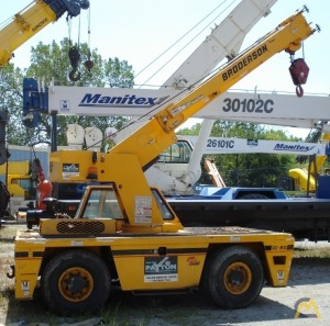 Broderson IC-80-3H 9-ton Industrial Carry Deck Crane