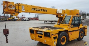 Broderson IC-80-3J 9-Ton Carry Deck Industrial Cranes