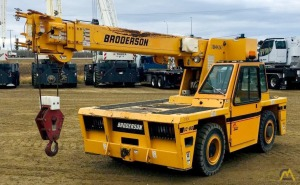 Broderson IC-80-3J 9-ton Carry Industrial Carry Deck Crane
