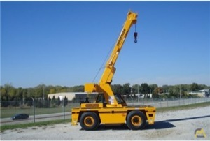 Broderson IC-80-3L 0-Ton Industrial Carry Deck Crane